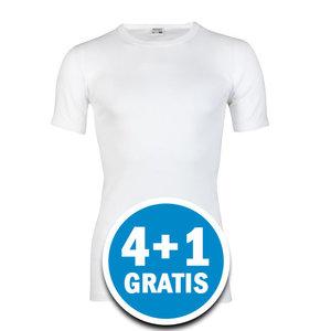 Beeren Heren M3000 T-shirt Extra Lang Wit  Voordeelpakket