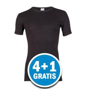 Beeren M3000 Heren T-shirt Extra Lang Zwart  Voordeelpakket