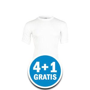 Beeren Heren Thermo T-shirt Wolwit Voordeelpakket