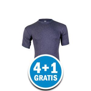 Beeren Thermo Heren T-shirt Donkerblauw Voordeelpakket