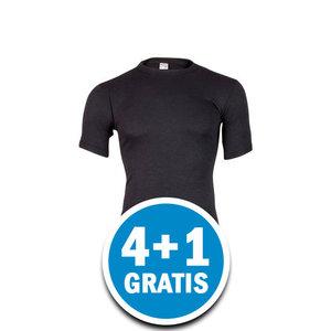Beeren Thermo Heren T-shirt Zwart  Voordeelpakket