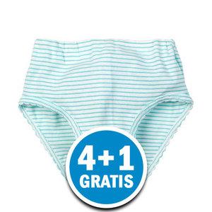 Beeren Meisjes Slip Cindy Groen  Voordeelpakket