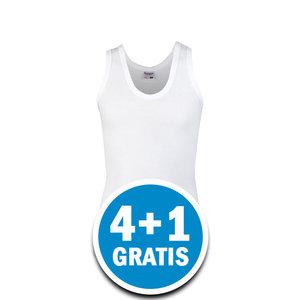Beeren Meisjes Hemd Patricia Wit  Voordeelpakket