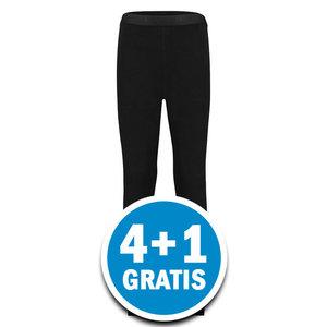 Beeren Thermokids Pantalon Zwart  Voordeelpakket