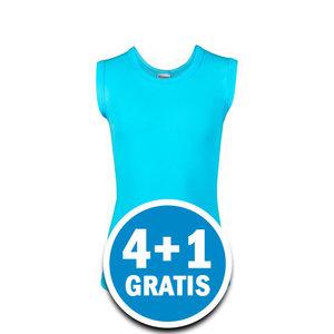 Beeren Jongens Mouwloos Shirt Davy Lichtblauw Voordeelpakket