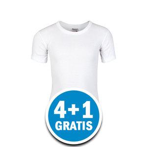 Beeren Jongens M3000 T-shirt Wit Voordeelpakket