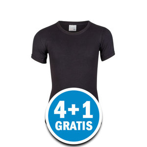Beeren Jongens M3000 T-shirt Zwart Voordeelpakket