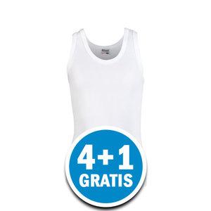Beeren Young Jongens Hemd Wit  Voordeelpakket