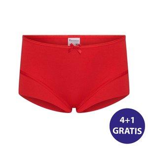 Beeren Meisjes Elegance Short Rood Voordeelpakket